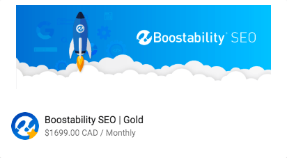 SEO Gold Package